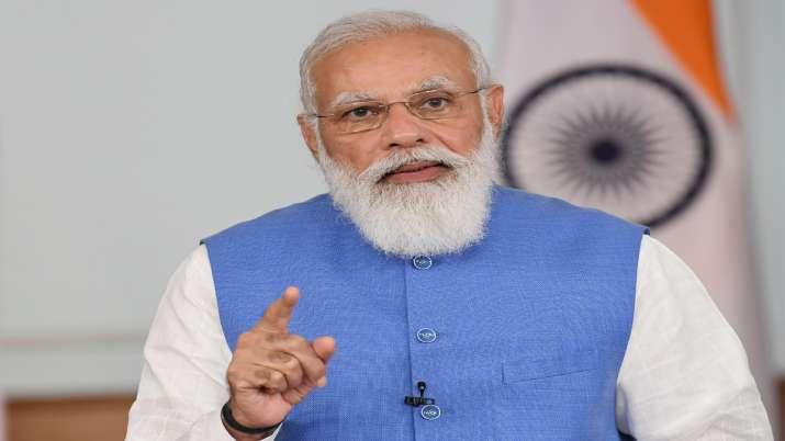 Prime Minister Narendra Modi,  addresses plenary session of Eastern Economic Forum (EEF), through vi- India TV Paisa