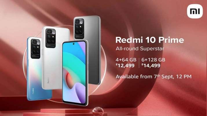 Redmi 10 Prime 50 मैगापिक्सल क्वाड कैमरा, 6000 mAh बैटरी के साथ भारत में लॉन्च- India TV Paisa