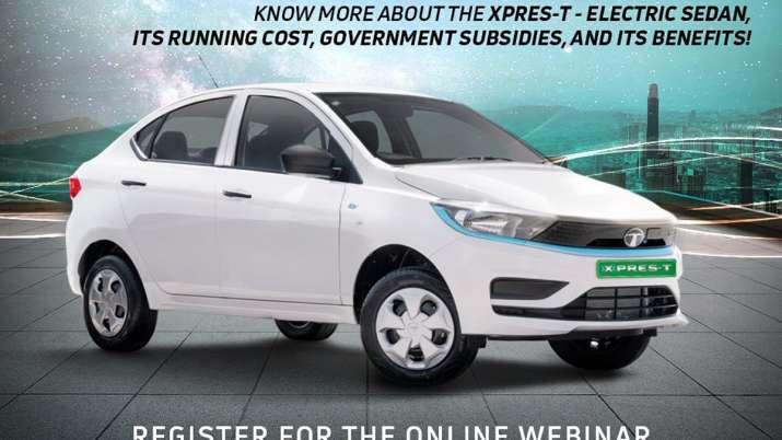 Tata Motors drives in XPRES-T EV for fleet segment at Rs 9.54 lakh- India TV Paisa
