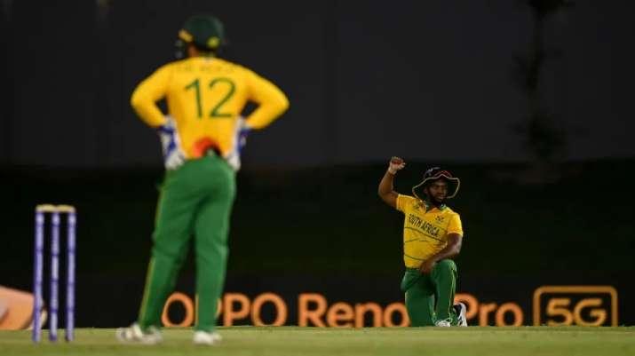 घुटने पर बैठने से क्विंटन डि कॉक ने किया इनकार, वेस्टइंडीज के खिलाफ प्लेइंग XI से हुए बाहर