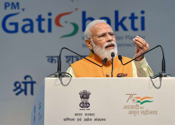 PM Modi to unveil Rs100 lakh cr Gati Shakti master plan on Wednesday- India TV Paisa