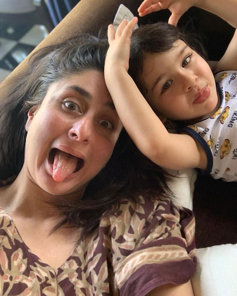 करीना के मां बनने के बाद उनकी ननद सबा पटौदी और रणबीर कपूर की बहन रिद्धिमा कपूर साहनी ने सोशल मीडिया पर 'सैफीना' को बधाई दी। इसी बीच तैमूर को अस्पताल जाते देखा गया।