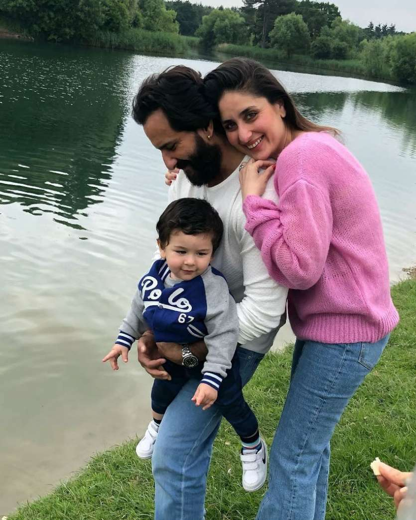 सैफ का पहला विवाह अभिनेत्री अमृता राव से हुआ था। सैफ और अमृता के दो बच्चे-अभिनेत्री सारा अली खान (25) और इब्राहिम अली खान (19) हैं। सैफ और करीना की जोड़ी सैफीना के नाम से चर्चित है।