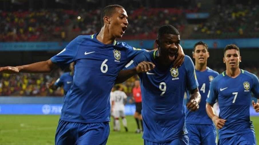 Brazil U-17 football team- India TV Hindi