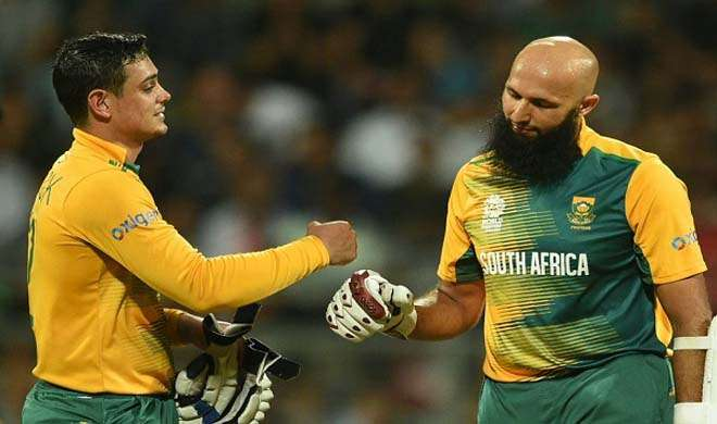 Quinton de Kock and Hashim Amla- India TV Hindi