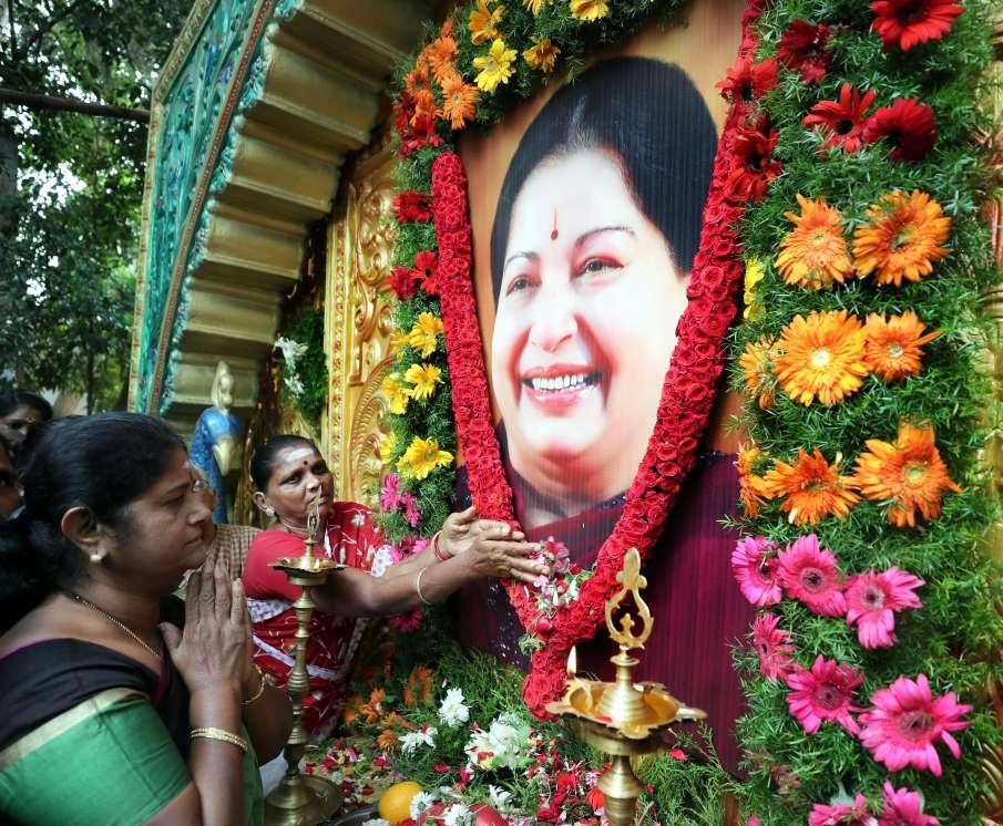 death anniversary of tamilnadu ex cm jayalalithaa- India TV Hindi