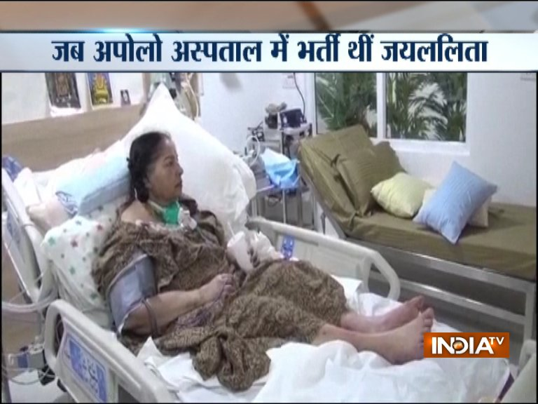 Jayalalithaa-Hospital-Video- India TV Hindi