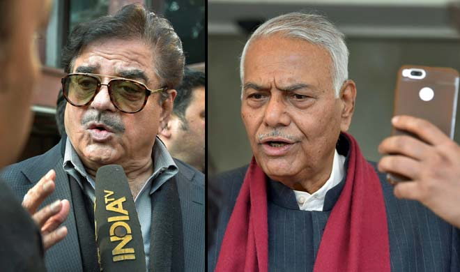 shatrughan sinha and yashwant sinha- India TV Hindi
