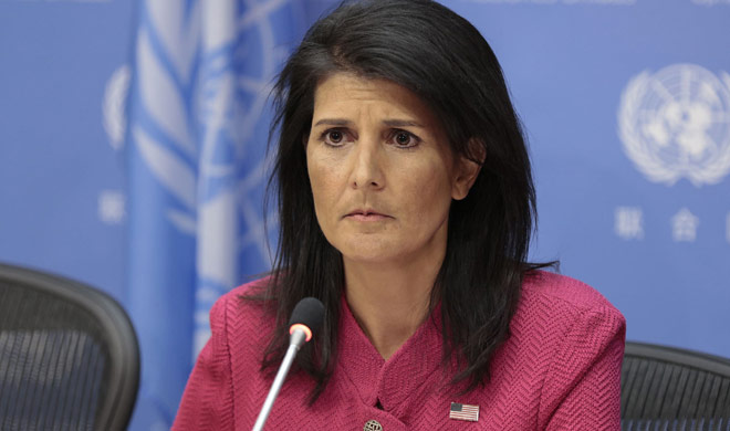 Haley said want to save nuclear deal then take action on...- India TV Hindi