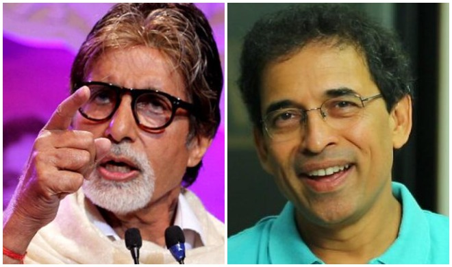 अमिताभ बच्चन और हर्षा...- India TV Hindi
