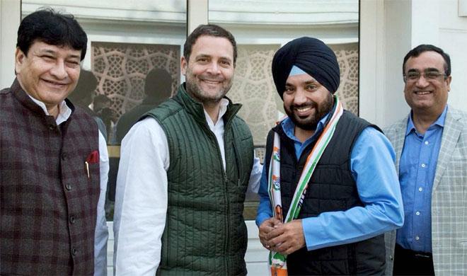 Arvinder Singh Lovely meeting Rahul Gandhi   PTI Photo- India TV Hindi