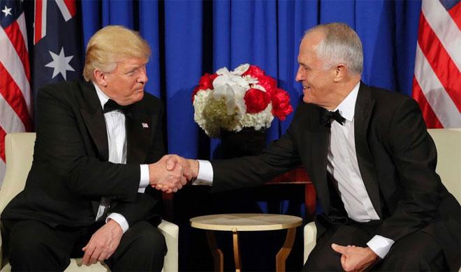 Donald Trump and Malcolm Turnbull   AP Photo- India TV Hindi
