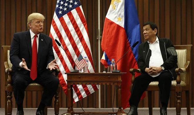 Donald Trump and Rodrigo Duterte | AP Photo- India TV Hindi