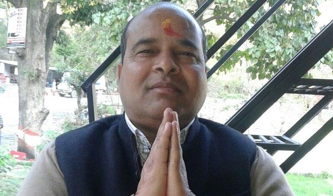 Tharali BJP MLA Magan Lal Shah is no more | Photo: Facebook- India TV Hindi
