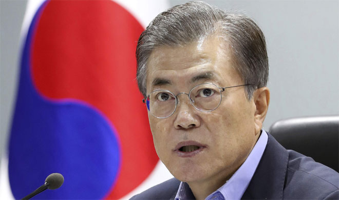 Moon Jae-in urges United States to lower bar for dialogue with North Korea   AP Photo- India TV Hindi