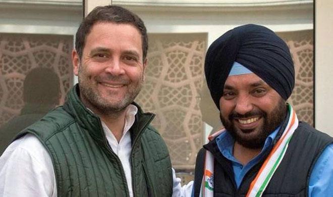 Rahul Gandhi and Arvinder Singh Lovely | Photo: AICC- India TV Hindi