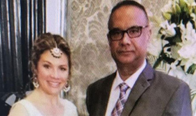 Sophie Trudeau posing with Khalistani terrorist Jaspal Atwal | ANI Photo- India TV Hindi