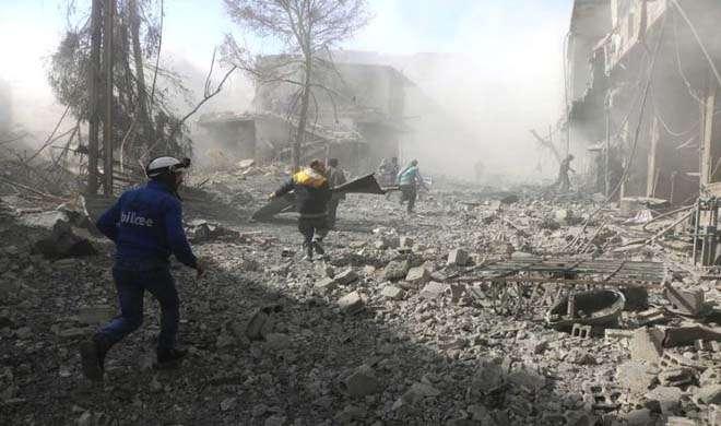 Syria bombing- India TV Hindi