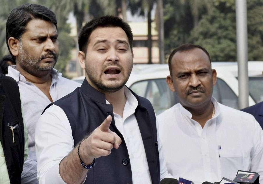 Nitish-Kumar-govt-conspiring-to-poison-my-food-Tejashwi-Yadav- India TV Hindi