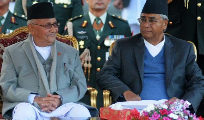 Nepal two big ruling Communist parties have decided to...- India TV Hindi