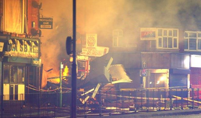 Huge blast in Leicester 6 people injured - India TV Hindi