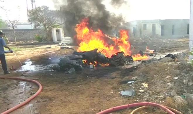 Indian Navy aircraft crash- India TV Hindi