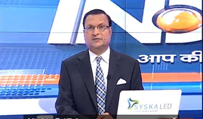 Rajat Sharma- India TV Hindi