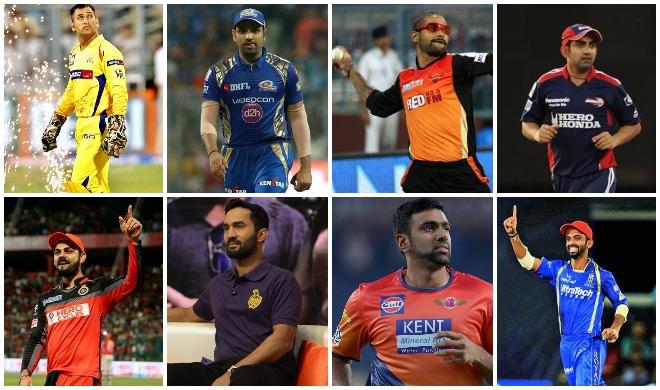 आईपीएल के सभी कप्तान...- India TV Hindi