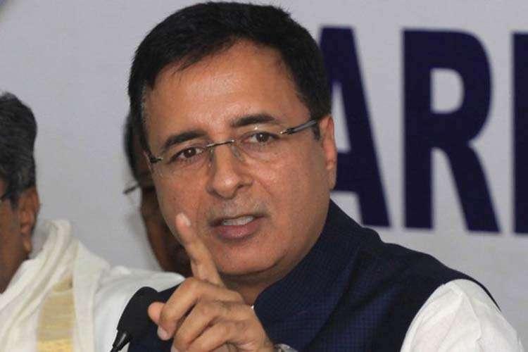 Congress Randeeep Surjewala- India TV Hindi