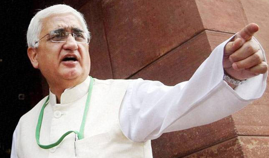 Congress has Muslim blood stain on its hand, says Salman Khurshid- India TV Hindi