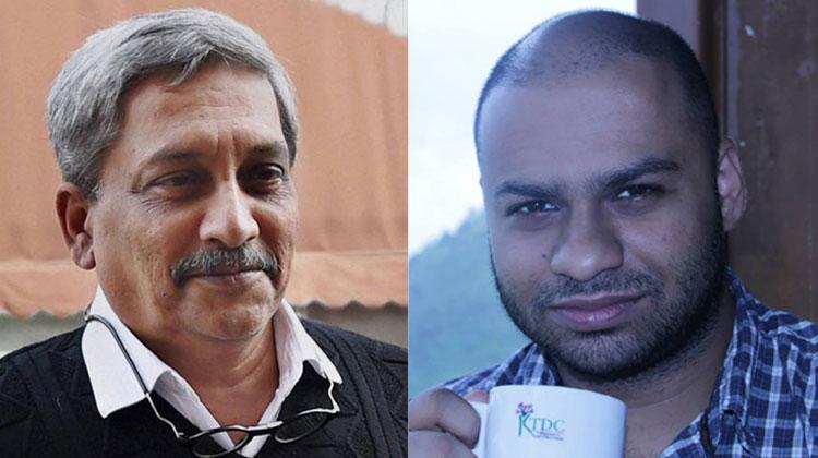 Manohar Parrikar and Kenneth Silveira | PTI/Facebook- India TV Hindi