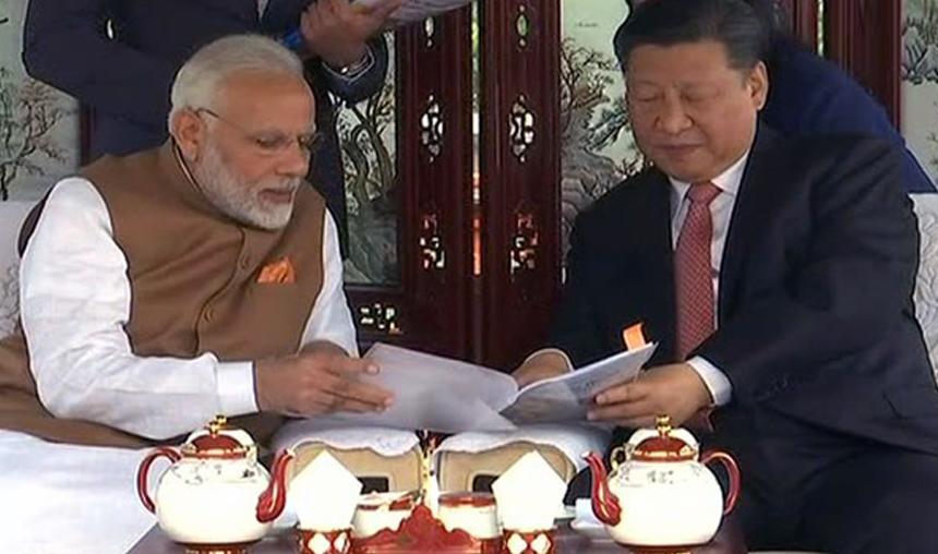 PM Modi hails 'fruitful talks' with Chinese President Xi Jinping- India TV Hindi