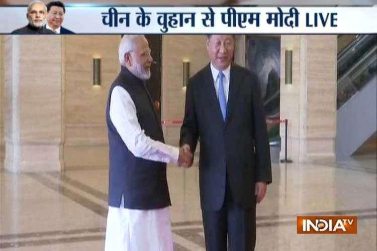 PM modi Xi jinping meeting- India TV Hindi