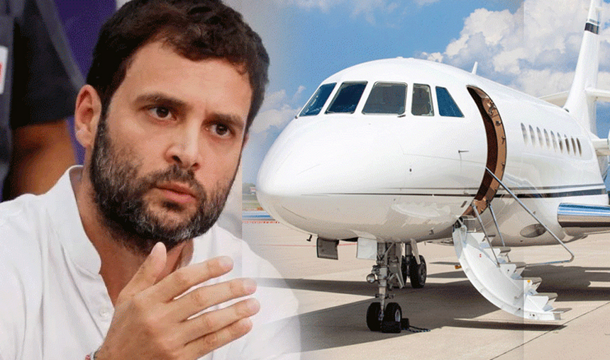 Rahul Gandhi flight nosedives en route Hubli, was it a technical snag or conspiracy?- India TV Hindi