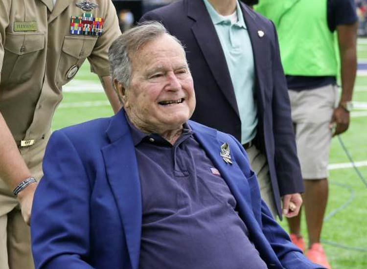 George HW Bush came out of ICU- India TV Hindi