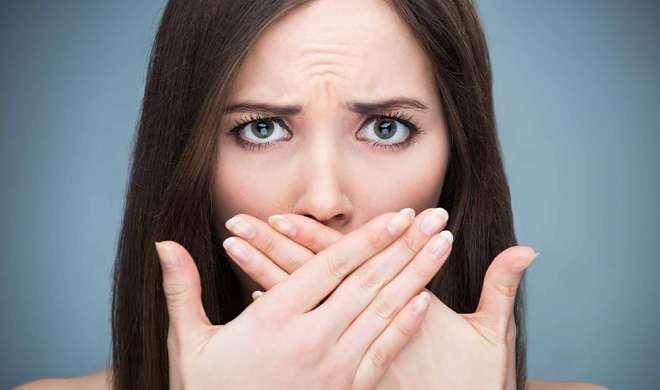 bad breath- India TV Hindi