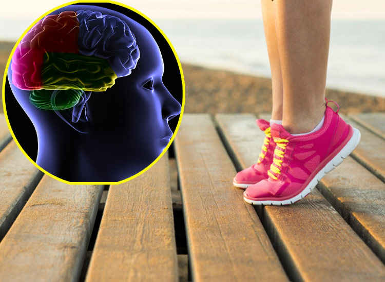 Revealed in the study healthy brain requires foot workout- India TV Hindi