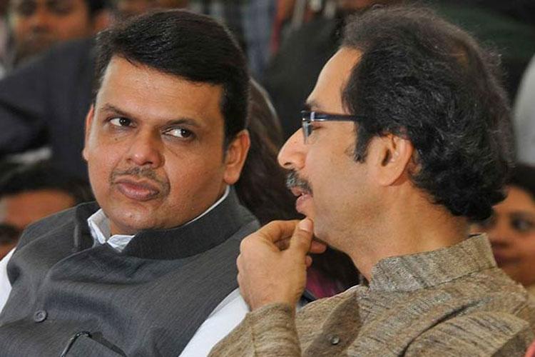 Maharashtra Chief Minister Devendra Fadnavis and Shiv Sena chief Uddhav Thackeray   PTI- India TV Hindi