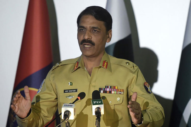 Major General Asif Ghafoor | AP Photo- India TV Hindi