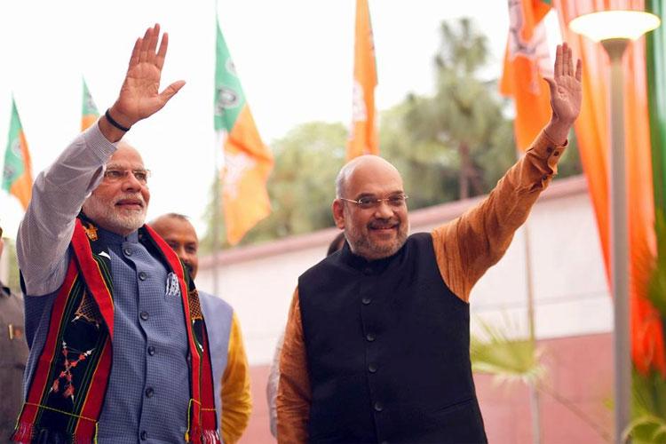 Modi government ended politics of appeasement, ushered politics of development, says Amit Shah   PTI- India TV Hindi