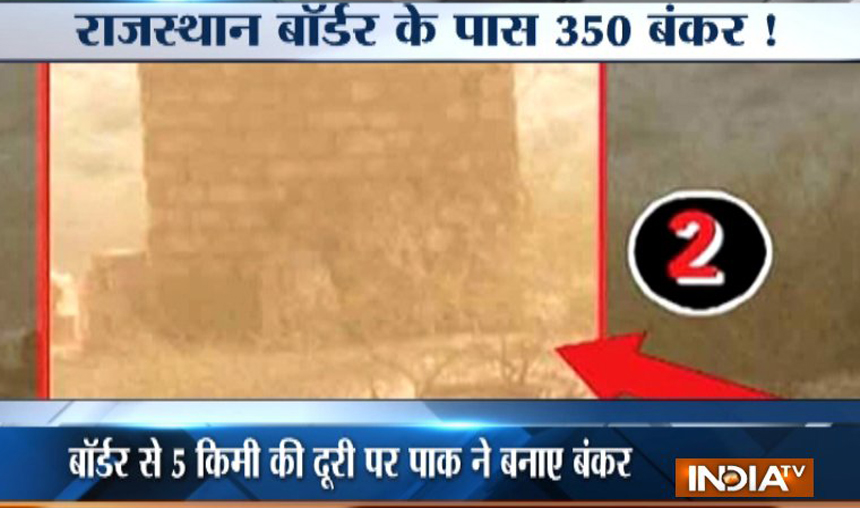 China building bunkers, military infrastructure for Pakistan along Rajasthan border- India TV Hindi