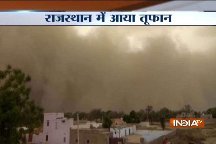Rajsthan bikaner storm pic- India TV Hindi