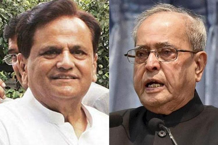 Ahmed Patel and Pranab Mukherjee | PTI Photos- India TV Hindi