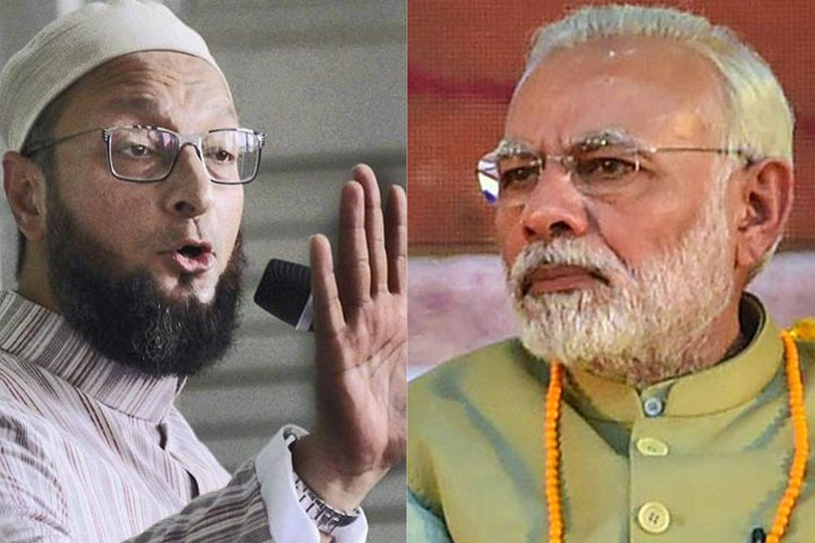 AIMIM chief Asaduddin Owaisi challenges PM Modi, Amit Shah to contest from Hyderabad | PTI- India TV Hindi