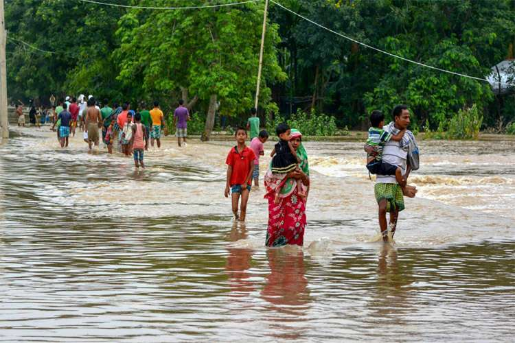 Assam Flood- India TV Hindi