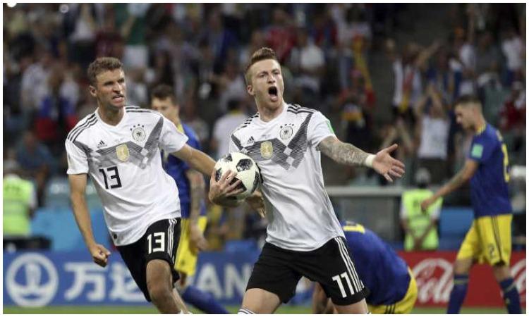 जर्मनी की टीम मैच हार...- India TV Hindi