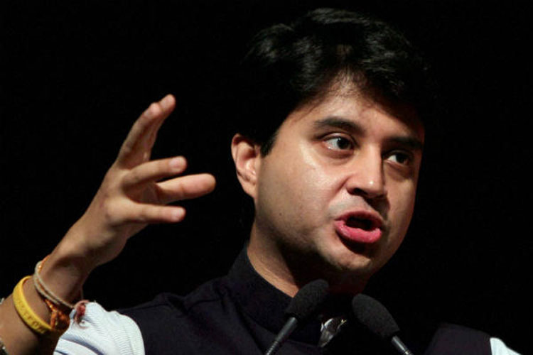 Jyotiraditya Scindia supports fixed terms for leaders on higher posts | PTI- India TV Hindi