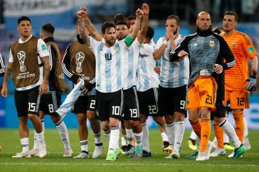 अर्जेंटीना की टीम- India TV Hindi