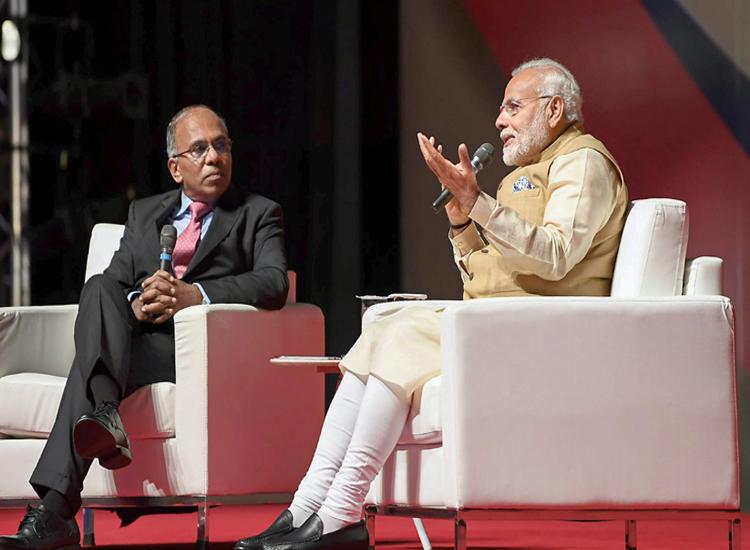 Prime Minister Narendra Modi speaks during his...- India TV Hindi