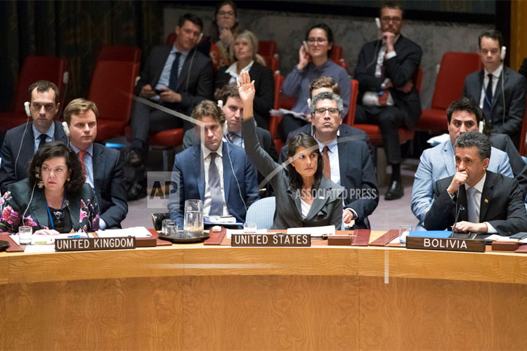 United States totally isolated defending Israel on Palestine UNSC resolutions | AP- India TV Hindi